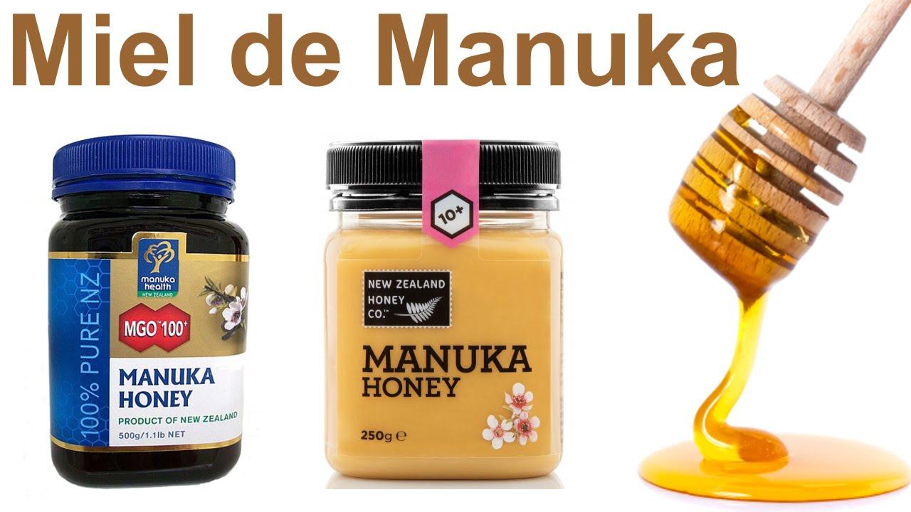 miel de manuka y sus propiedades