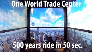 One World Observatory at World Trade Center - Elevator Ride