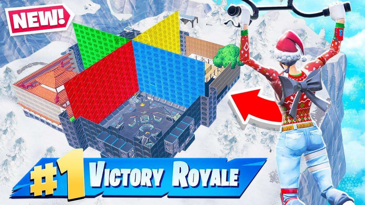 CREATIVE Custom WALL WARS *NEW* Gamemode in Fortnite Battle Royale