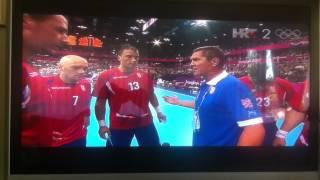 Rukomet OI London 2012: Srbija - Hrvatska; Pizdurine jedne!!