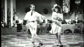 Fred Astaire and Rita Hayworth - Amazing dance scene