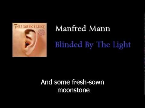 Manfred Mann - Blinded by the light - w lyrics