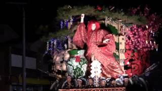 2014 岩手町秋祭り・沼宮内山車百年祭