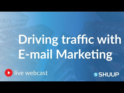 Webcast Replay: E-mail Marketing to Drive Traffic