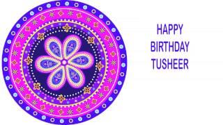 Tusheer   Indian Designs - Happy Birthday
