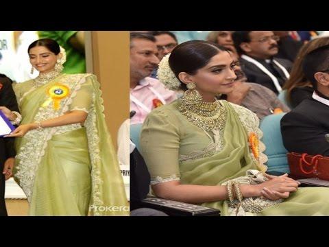 Yay or Nay: Sonam Kapoor in Anamika Khanna at National film awards