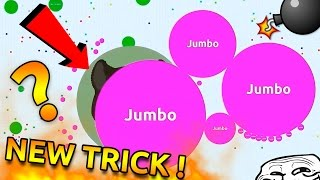 BEST AGARIO TRICK EVER !! ( Solo Agar.io Gameplay 32K )