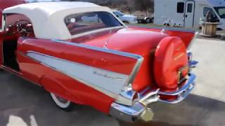 FOR SALE: 1957 Chevrolet Bel Air convertible