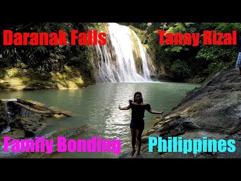 Family Bonding at Daranak Falls Tanay Rizal Philippines 2017