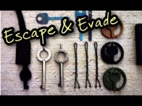 UK Lockpickers Proudly Presents The Escape & Evasion Equipment Covert Handcuff keys (At Our Shop)