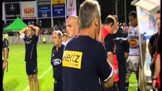 Agen-Toulouse (TOP 14 2011/2012) la folle fin de match + la colere de Crenca et Lanta