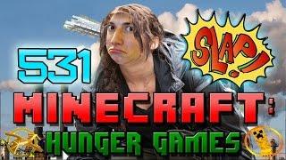 Minecraft: Hunger Games w/Mitch! Game 531 - SUPER SLAP ATTACK!