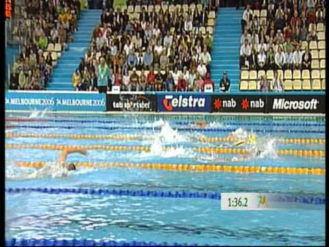 Women's 200m freestyle Qualifying Commonwealth Games 2006 Melbourne