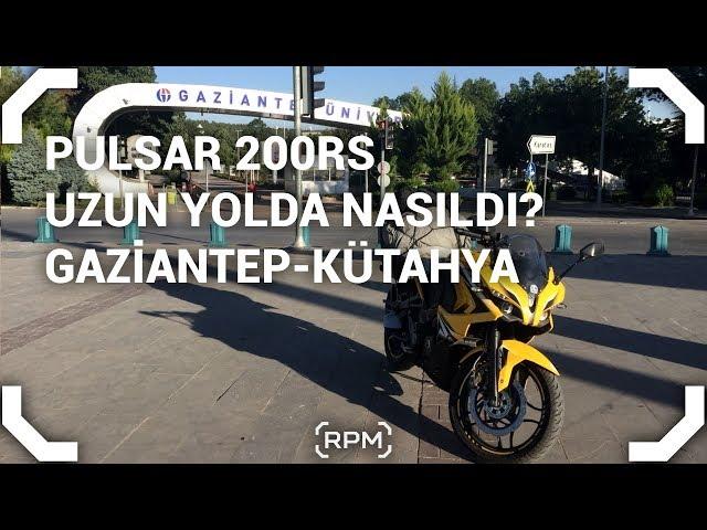Bajaj Pulsar 200RS Uzun Yolda Nasıldı? [RPM]
