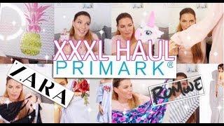 XXXL PRIMARK - ZARA - Romwe Fashion & DEKO HAUL♡