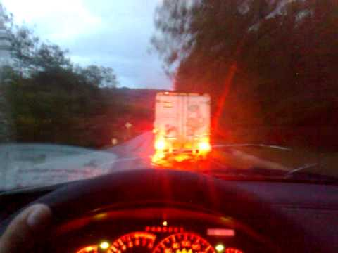 En la carretera a Tlaxiaco