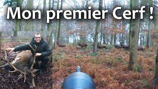 Repeat youtube video Mon premier Cerf - Un grand moment de chasse !  Chasse HD