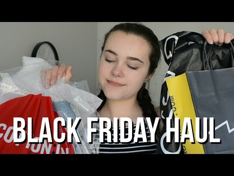 BLACK FRIDAY HAUL 2017 (AUSTRALIAN VERSION!) | Natalie Wall