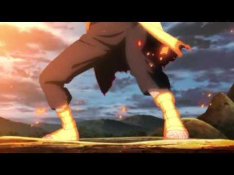 Naruto vs Sasuke the final battle FMV Blue bird