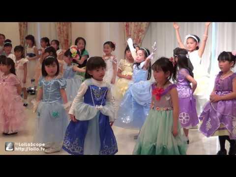 英語deプリンス&プリンセス発表会にて プリンセスソフィアのダンスをしています.