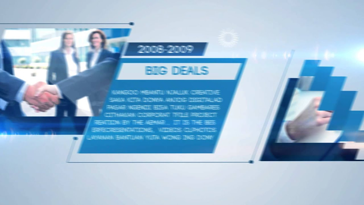 Timeline Corporate VideoHive Templates After Effects Project - After effects timeline template