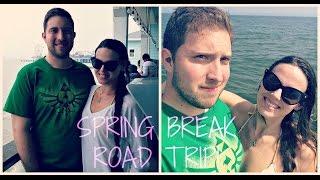 TEXAS SPRING BREAK!! Galveston Island Vlog