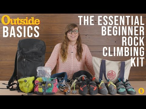 The Essential Beginner Rock Climbing Kit | Outside