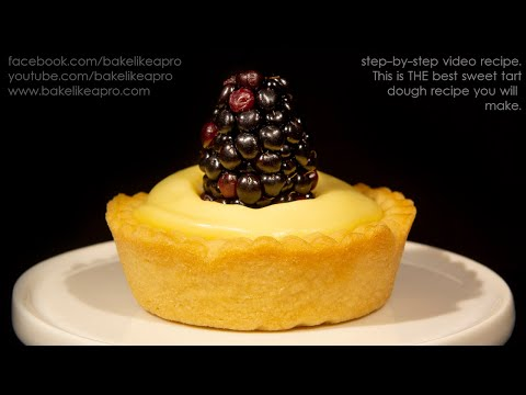Easy Sweet Tart Dough Recipe