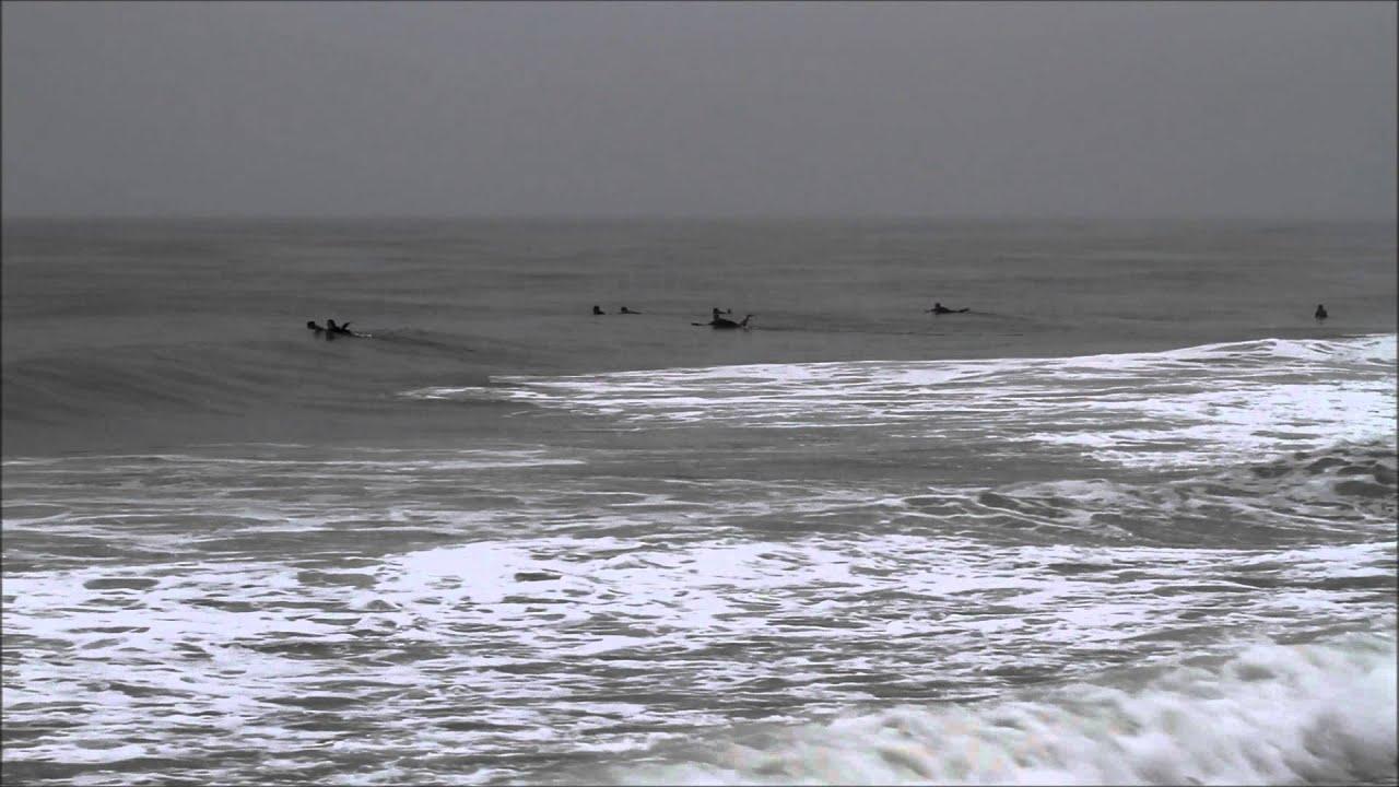 surfing at atlantic beach park windjammer surf bar 6 28 15 youtube