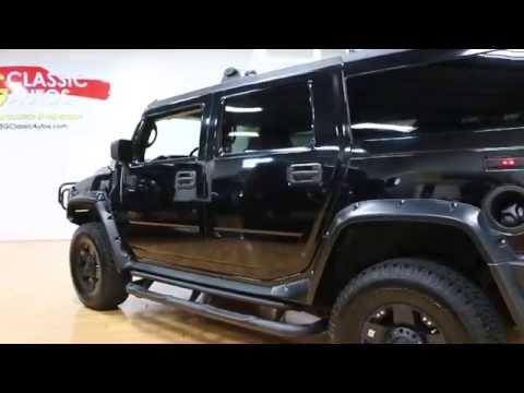 2006 Hummer H2 For Sale~Black/Black~XD Rims~Brush Bar~Wheel Flares~BLACKED OUT!