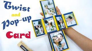 DIY -  Làm Thiệp Popup | How To Make Photo Pop-up Card
