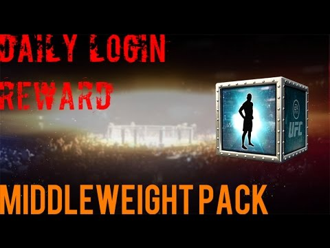 EA SPORTS UFC Mobile - Daily Login Reward #1: Middleweight ...