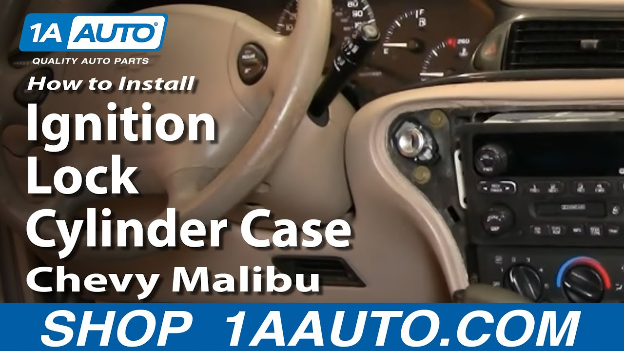 maxresdefault how to install replace ignition lock cylinder case chevy malibu 97  at virtualis.co