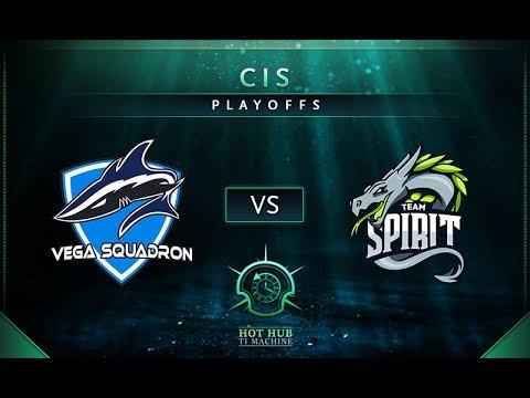 Vega vs Spirit Game 2 - TI7: CIS Regional Qualifiers Playoffs - @LD @Fogged
