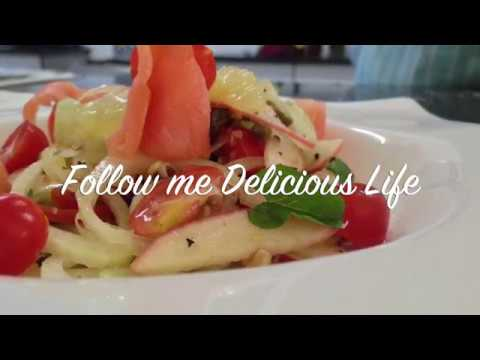 Fennel Smoked Salmon Salad