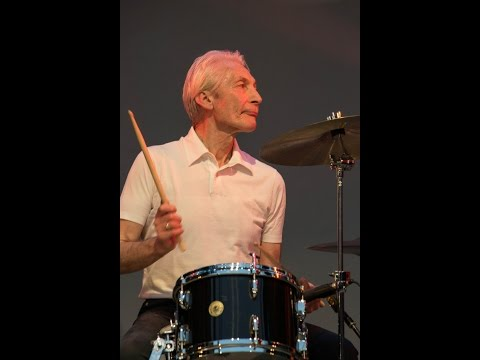 Charlie Watts skips the high hat when playing the snare drum!