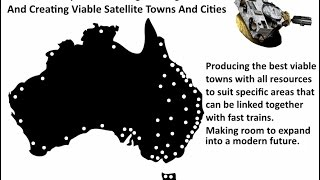 Satellite Towns & Cities Concept