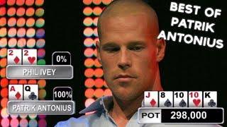 Top Poker Moments - Best Of Patrik Antonius!