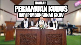 Ibadah Perjamuan Kudus Pembangunan GKJW | GKJW Jemaat Manukan Surabaya 02 Agustus 2020