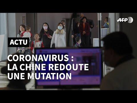 Coronavirus: la Chine redoute une mutation, 1er cas aux États-Unis | AFP News