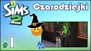 """✨ CZARODZIEJKI - The Sims 2 - #1 - """"Trzy siostry, barak i szczęście w kasynie"""""""