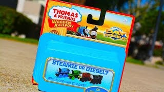 Thomas And Friends Steamie Or Diesel? Promotional Mystery Box Wooden Toy Train