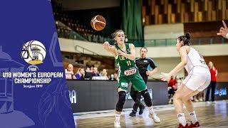 Serbia v Lithuania - Full Game - FIBA U18 Women's European Championship 2019