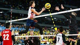 【バレーボール】ミドルブロッカー、ジェフリー・ジェンドリーグ!こいつは強い!!【衝撃】Middle blocker【 volleyball】