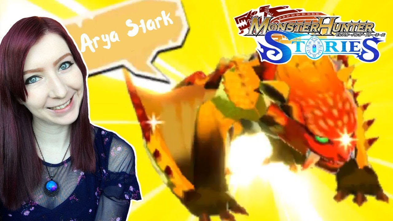 I Got A Sand Barioth Arya Stark Monster Hunter Stories Let S