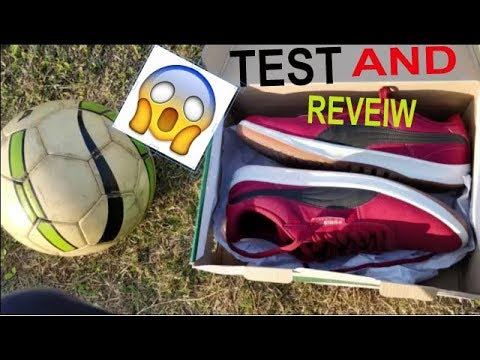 Freestyle football shoes PUMA G.VILAS 2 CORE IDP 2017 TEST AND REVEIW