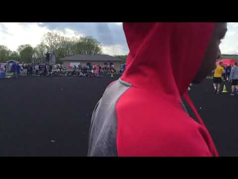 Joe Mathie High Jump 5-10-18