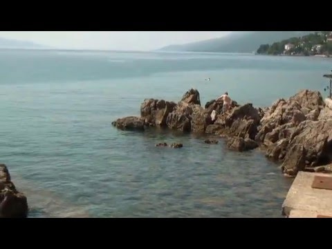 Abbazia-Opatija  Beach - Hrvatska-Kvarner-öböl