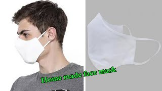 Easy New Style Pattern Mask Face Mask Sewing Tutorial How to Make Face Mask At Home DIY Face Mask