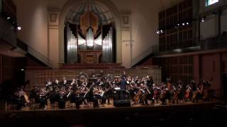 Smetana - Ma Vlast - Mvt 2b - The Moldau - Vltava - Second Queensland Youth Orchestra QYO2